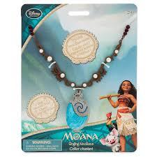 light up halloween necklaces disney moana singing necklace shopdisney