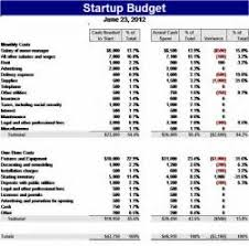 business startup budget template formal word templates start up