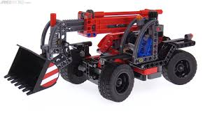 lego technic sets lego technic 2017 telehandler review 42061