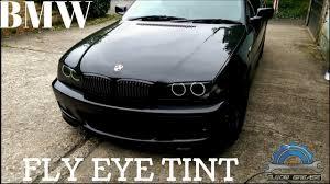 eye bmw headlights fly eye headlights tint in my bmw e46