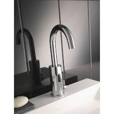 le infrarouge cuisine mitigeur de lave mains eau chaude et froide infrarouge chromé impuls