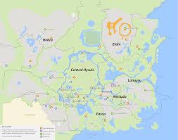 Skyward Sword Map Map Of The Wild Tloz Breath Of The Wild Map By Nelde On Deviantart