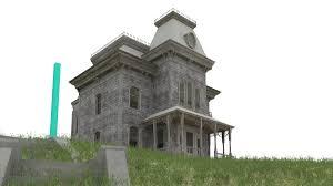 bates motel mansion ho scale model train building ho scale model