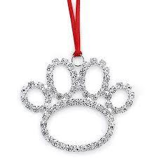 austrian beautiful paw decorative ornament free