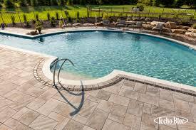 Pool Patio Pavers by Tips Paving Stone Manufacturers Techo Bloc Concrete Paver