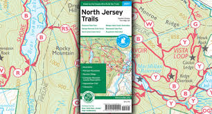 New York Appalachian Trail Map by North Jersey Trails Map