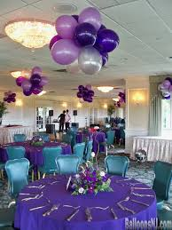 sweet 16 centerpieces balloons nj balloon decorations 732 341 5606