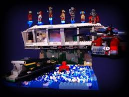 Iron Man House Lego Custom Giant Iron Man 3 Malibu Mansion W Armory Moc Tony