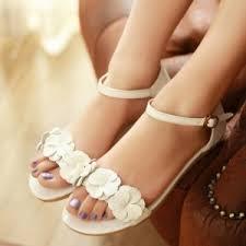 chaussures plates mariage sandales et tongs mariage quel modèle pour femme choisir ma