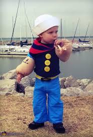 Sailors Halloween Costumes Lil U0027 Popeye Sailor Man Baby Halloween Costume