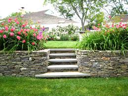 Landscape Ideas Front Yard by Front Yard Landscape Ideas On Slope The Garden Inspirations