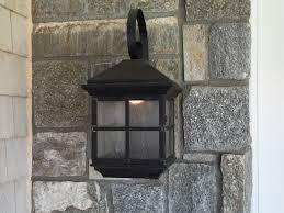 Wall Sconce Installation Coronado Mission Wall Light Copper Lantern Residential Lighting