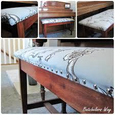 Piano Bench Pad Batchelors Way November 2012