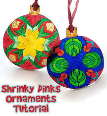 shrinky dinks craft ornament woo jr activities