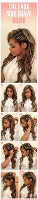 how to i french plait my own side hair 8 cool braid tutorials from pinterest that will actually teach you