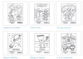 free personalized coloring sheets valentine u0027s cards woof