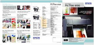 download free pdf for epson stylus pro 9700 printer manual