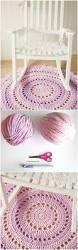 Crochet Bathroom Rug by Best 25 Crochet Carpet Ideas On Pinterest Crochet Mandala Knit