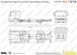 dimensions of mercedes atego 5 авто pinterest engine types