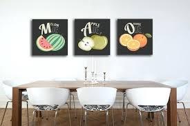 tableau cuisine tableau deco pour cuisine tableau triptyque salade de fruits