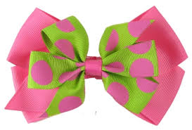 pictures of hair bows the bigger the bow the more you leslie tarabella