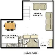 small apartment design for live work 3d floor plan and tour best