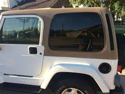 white jeep sahara is this too much rust jeep wrangler tj forum