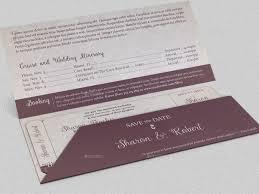 Boarding Pass Wedding Invitation Card Wedding Boarding Pass Invitation Template By Godserv2 Graphicriver