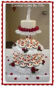 cupcake wedding cake cupcake tiered wedding cake a sweet alternative