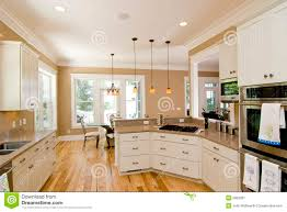 bright modern kitchen modern country house interiorscountry house with open plan design