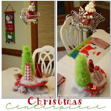 ideas for christmas centerpieces by white tree with f hanging