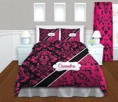 Pink And Black Duvet Set Pink Damask Duvet Covers U2013 De Arrest Me