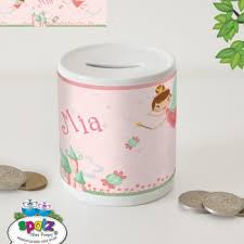 personalised piggy bank personalised kids money boxes piggy banks spatz mini peeps