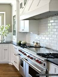 kitchens with subway tile backsplash white subway tile backsplash impressive white subway tile in kitchen