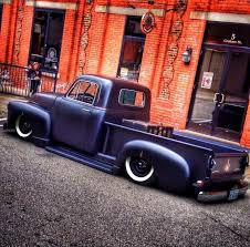 blacked out 1952 1953 chev chevy chevrolet advance design pickup