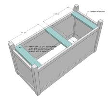 Diy Toy Box Plans ana white simple modern toy box with lid diy projects
