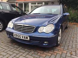 2006 mercedes benz c220 auto avantgarde sport spares or repair