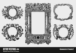 gorgeous free vintage frames borders ornaments ii