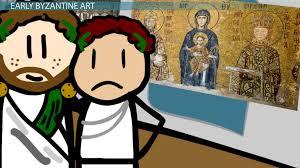 early byzantine art techniques styles u0026 culture video u0026 lesson