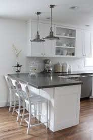 White Kitchen Cabinets Pictures Best 25 L Shaped Kitchen Ideas On Pinterest L Shaped Kitchen