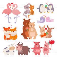 imagenes de amor con muñecos animados parejas de animales lindos en amor colección feliz día de san