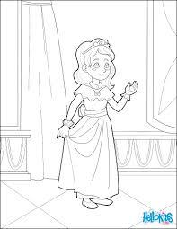 child princess coloring pages hellokids