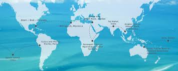 Marrakech Map World by Gallery Around The World Classic 2016 Tcs World Travel
