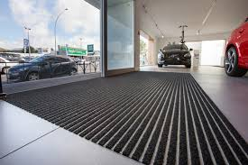 advance flooring project stunning volvo showroom protected