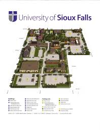 Sioux Falls Map Usf Campus Map Sioux Empire Water Festival March 13 14 2018