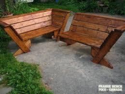 patio corner bench outdoor goods