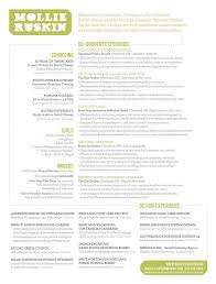 World Best Resume by Graphic Design Resume Examples Molly Nix 15 Beautiful Resume