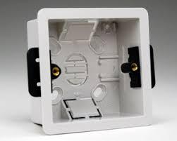 european international flush mount power outlet wall box 35mm