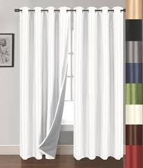 Amazon Curtains Blackout Amazon Com Siena Home Fashions Buona Notte Blackout Curtain 54