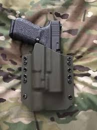 surefire light for glock 23 od green kydex light bearing holster for glock 19 23 32 surefire